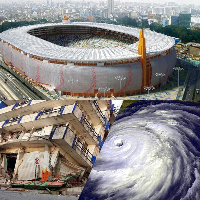 Juegos Panamericanos, terremotos y huracanes