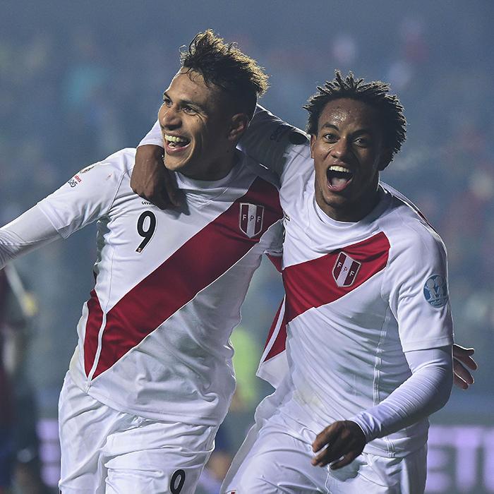 Antesala Perú - Colombia