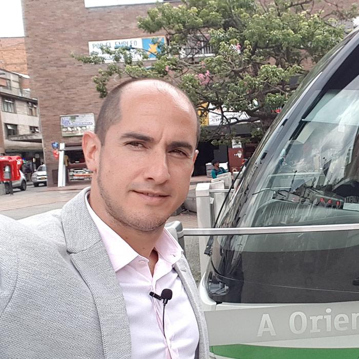 Transmisión desde el tranvía de Medellín